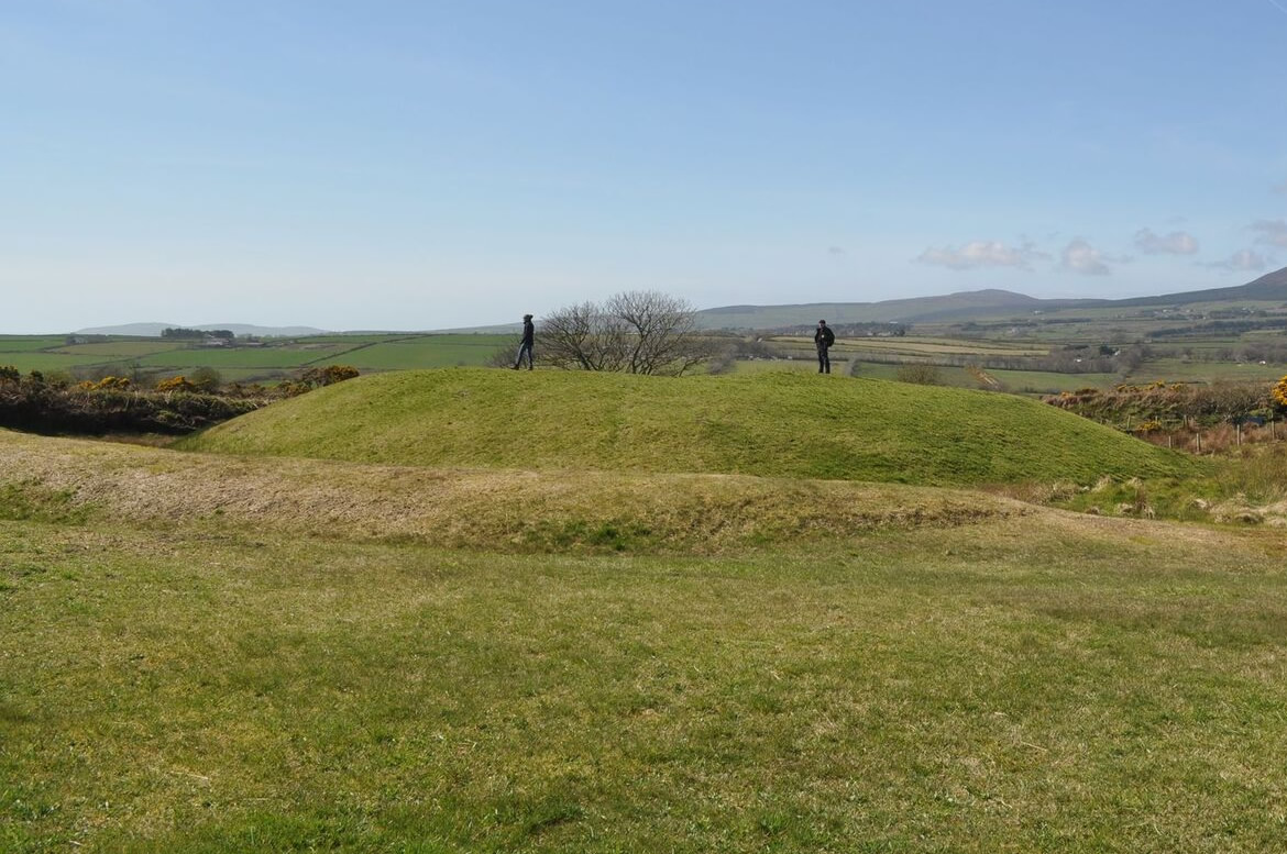 Celts Norse and fort at Santon Broogh